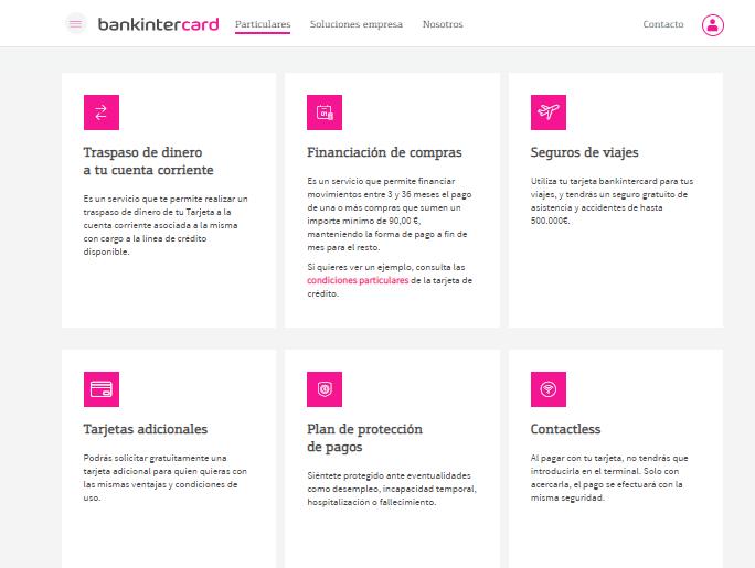 Puedes incluir diferentes servicios en tu tarjeta revolving Visa Vodafone.