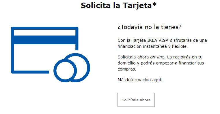 Una de las características de la tarjeta revolving Ikea es que permite aplazar los pagos de las compras que haces.