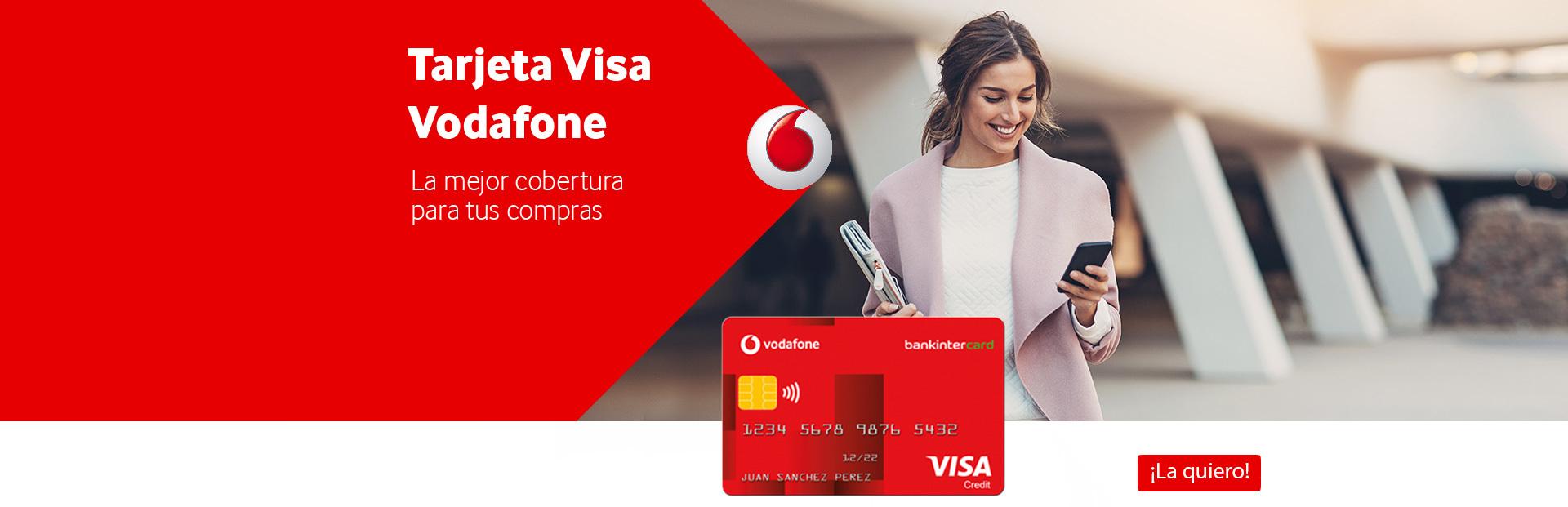 Reclamar Tarjeta Visa Vodafone
