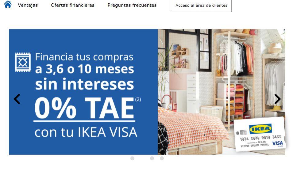 Con la tarjeta revolving Ikea puedes comprar dentro de la tienda o fuera de ella.