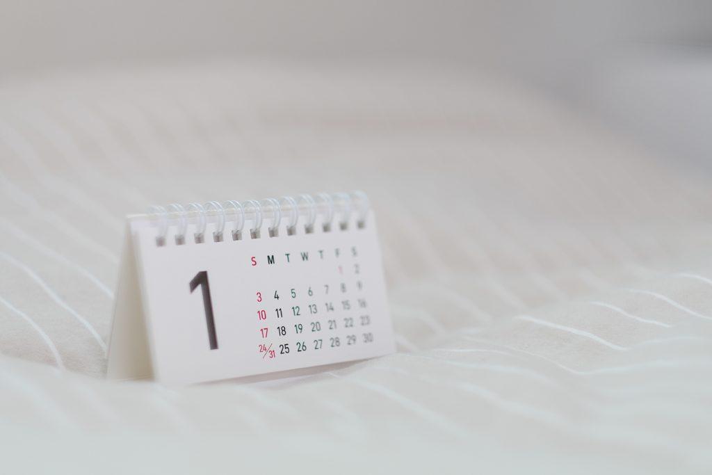 Calendario de fases del concurso de acreedores