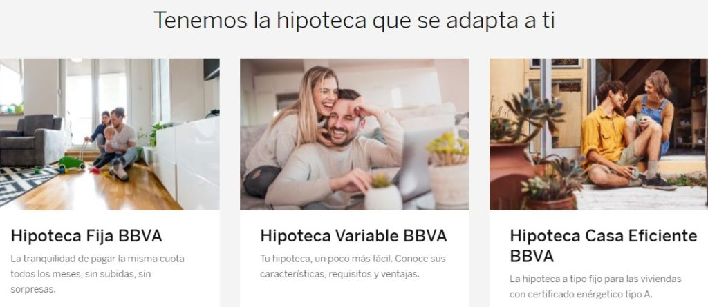 Hipotecas BBVA
