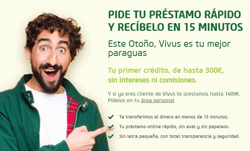 Minicrédito gratis Vivus